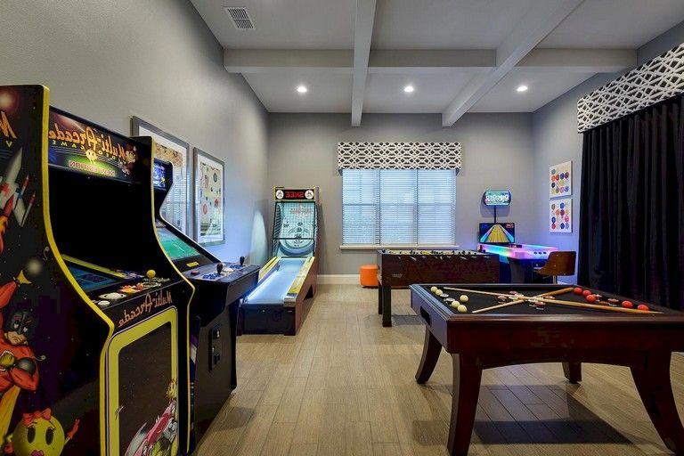 11+ Inspiring Luxury Game Room Ideas Decoration images
