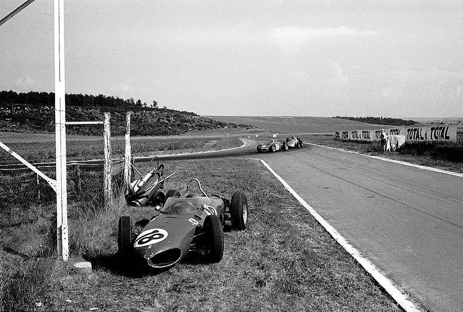 Richie Ginther Ferrari 156 Reims 1961 French GrandPrix F1 Image: Intégrée