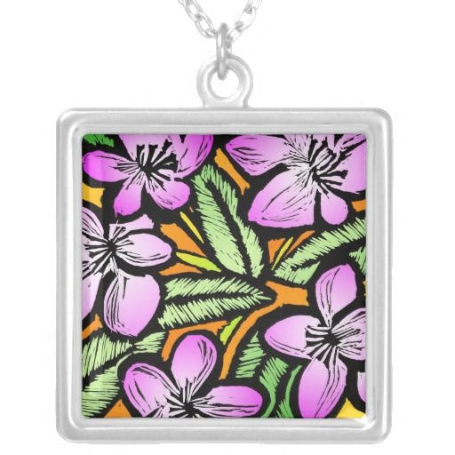 Flowers Custom Necklace