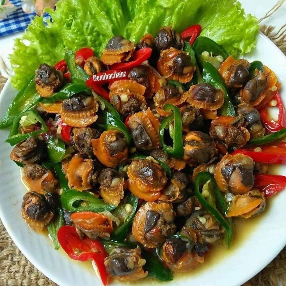 Masakan Lauk Pauk Berbagai Sumber Resep Masakan Masakan Resep Kerang