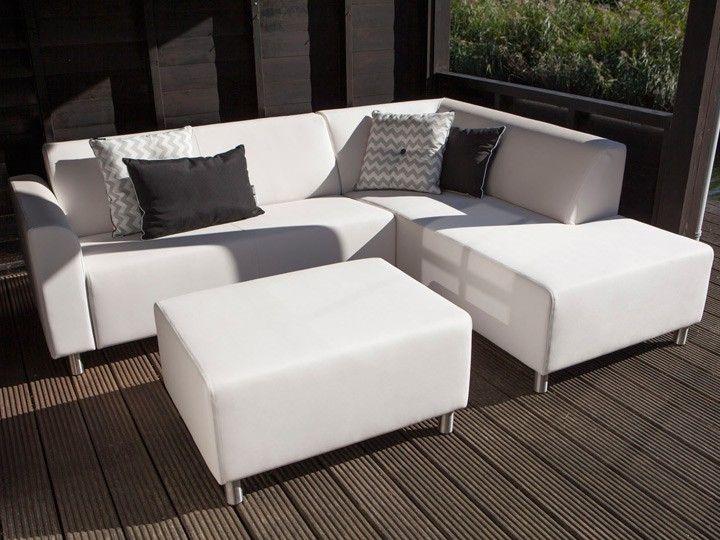 STEF Lounge Gartenmöbel Lounge Gartenset 3-teilig Silvertex Ice ...