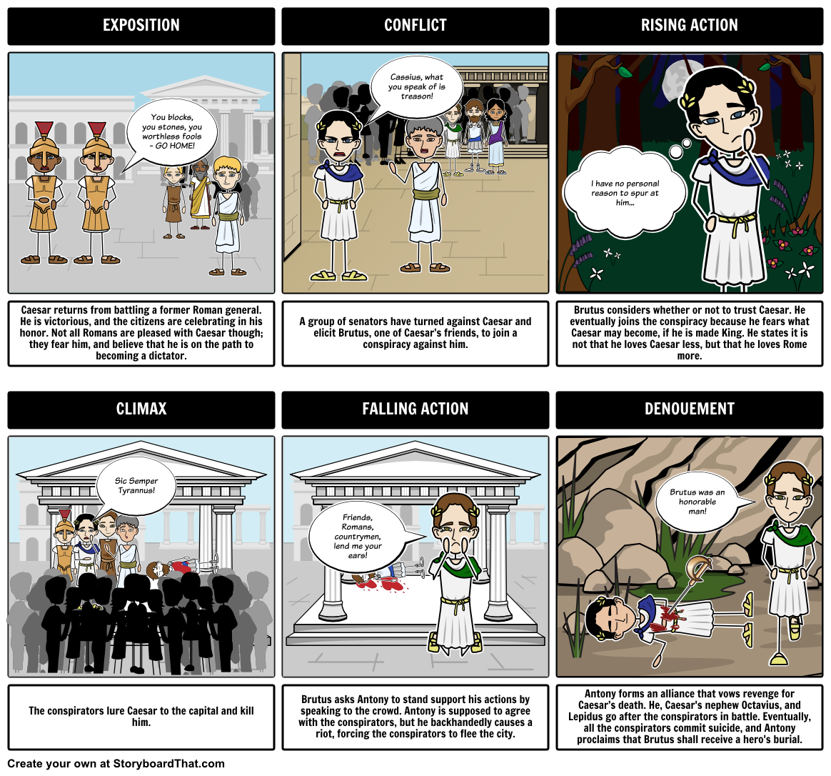 Teach The Tragedy Of Julius Caesar By William Shakespeare With This Lesson Plan Including