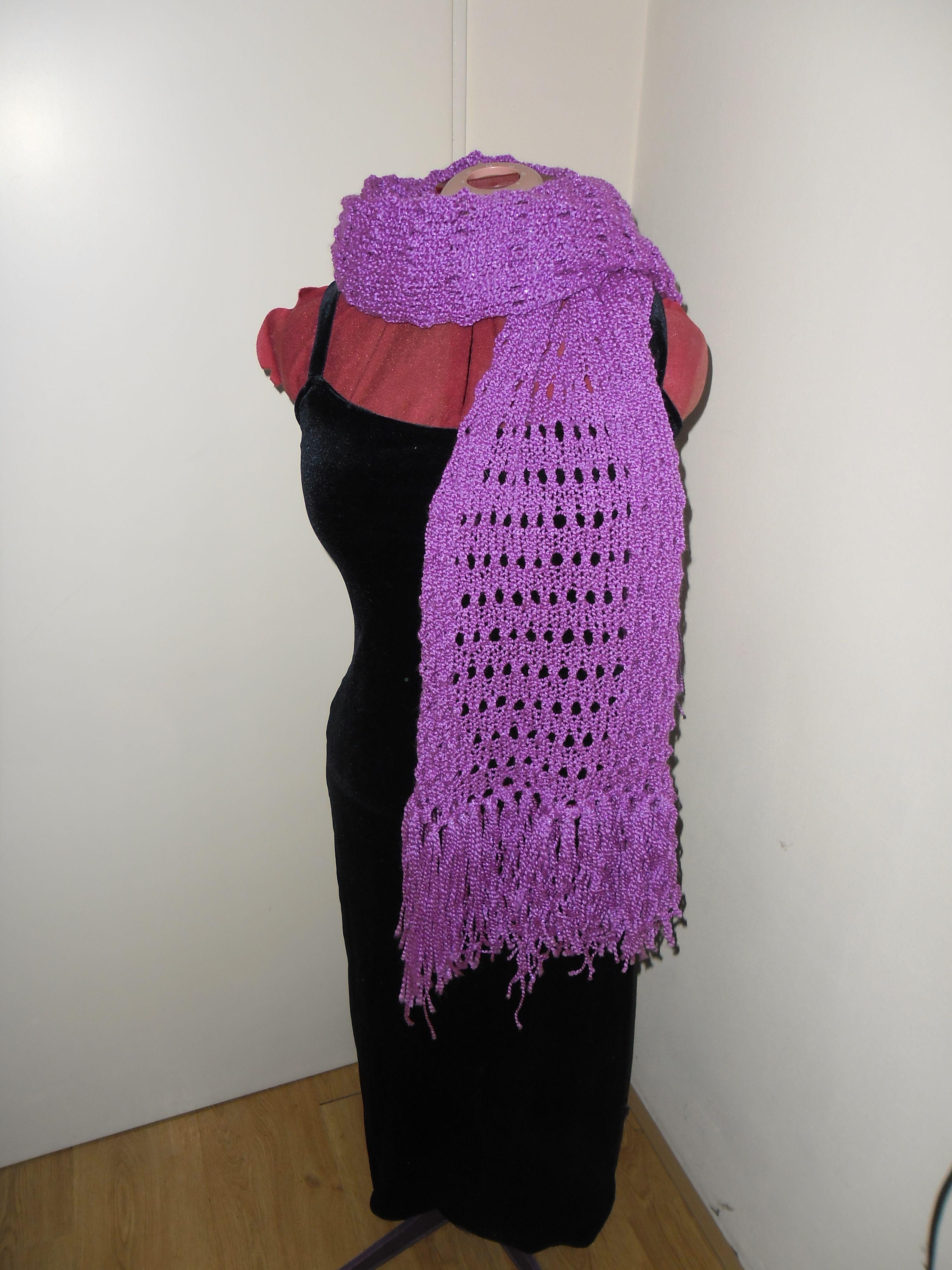 handknitted scarf