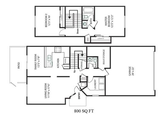Naval Complex San Diego Chesterton Townhomes Neighborhood 2 – Army Base Housing Floor Plans