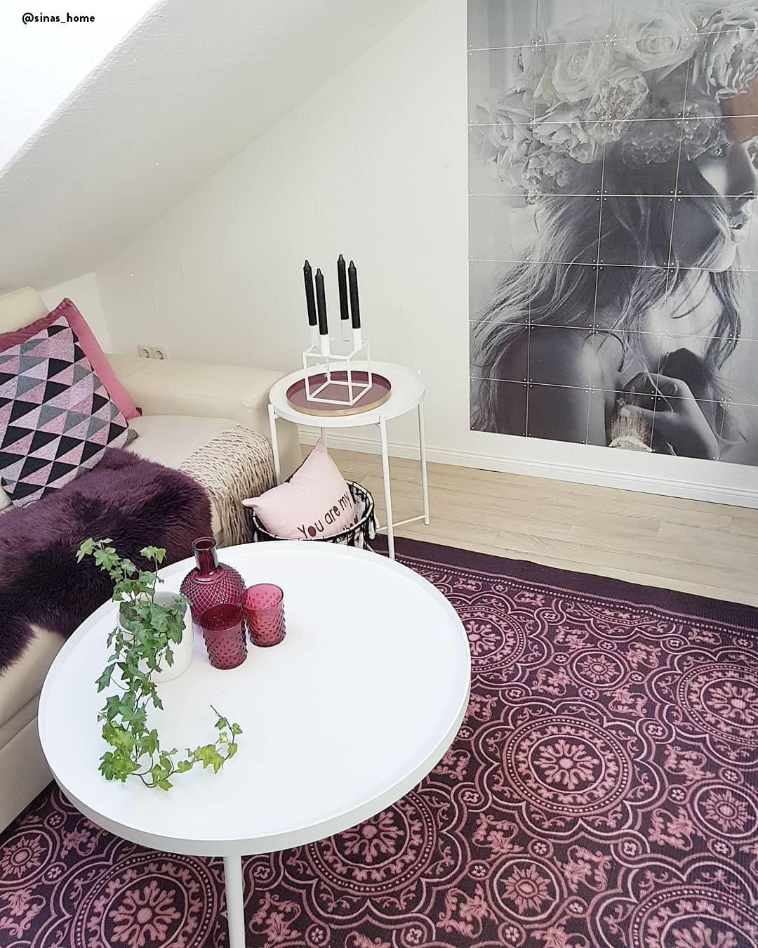Burgundy Stilvolle Farbakzente Für Den Winter Wohn Textilien