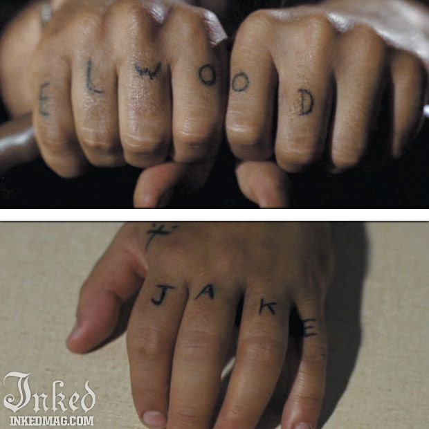 Best Tattoos In Movies Pt3 Inked Magazine The Blues Brothers