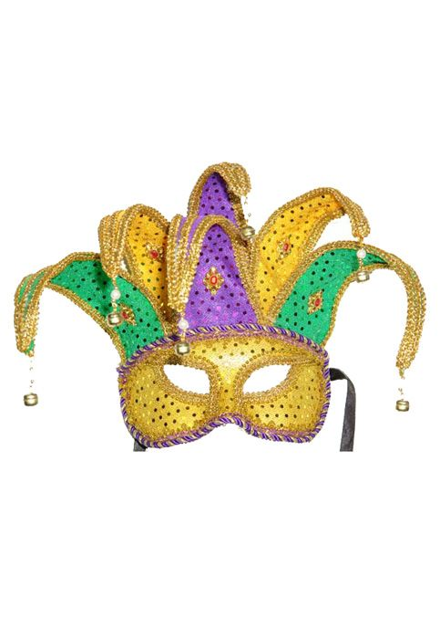 Half Masks To Decorate Captivating Mardi Gras Masks  Masks  Gold Purple And Green Carnival Design Ideas