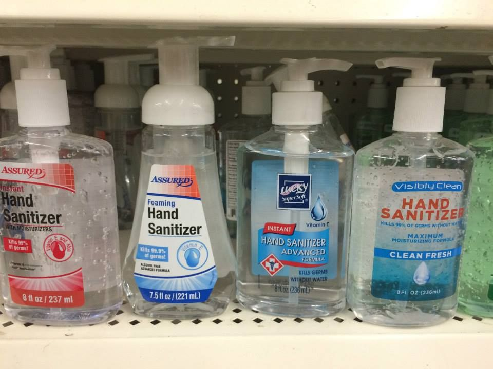 Variety Of Pump Hand Sanitizers From The Dollar Tree Sanitizer