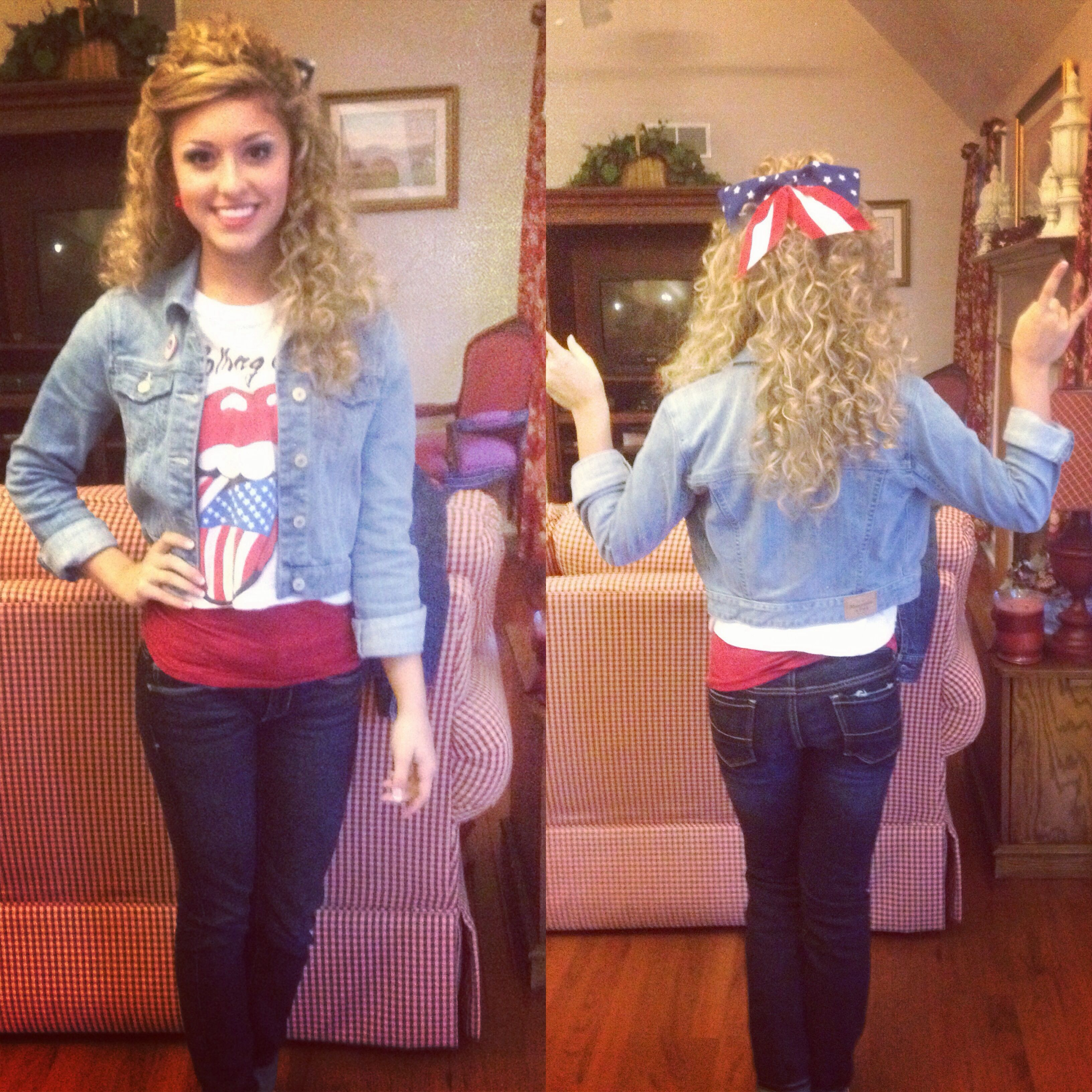 Merica day outfit for homecoming. Merica day outfit for homecoming   Beautiful  awesome  wonderful
