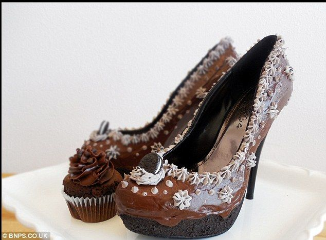 9d363a267ed Designer creates amazing shoes that look like mouthwatering cakes with  buttercream
