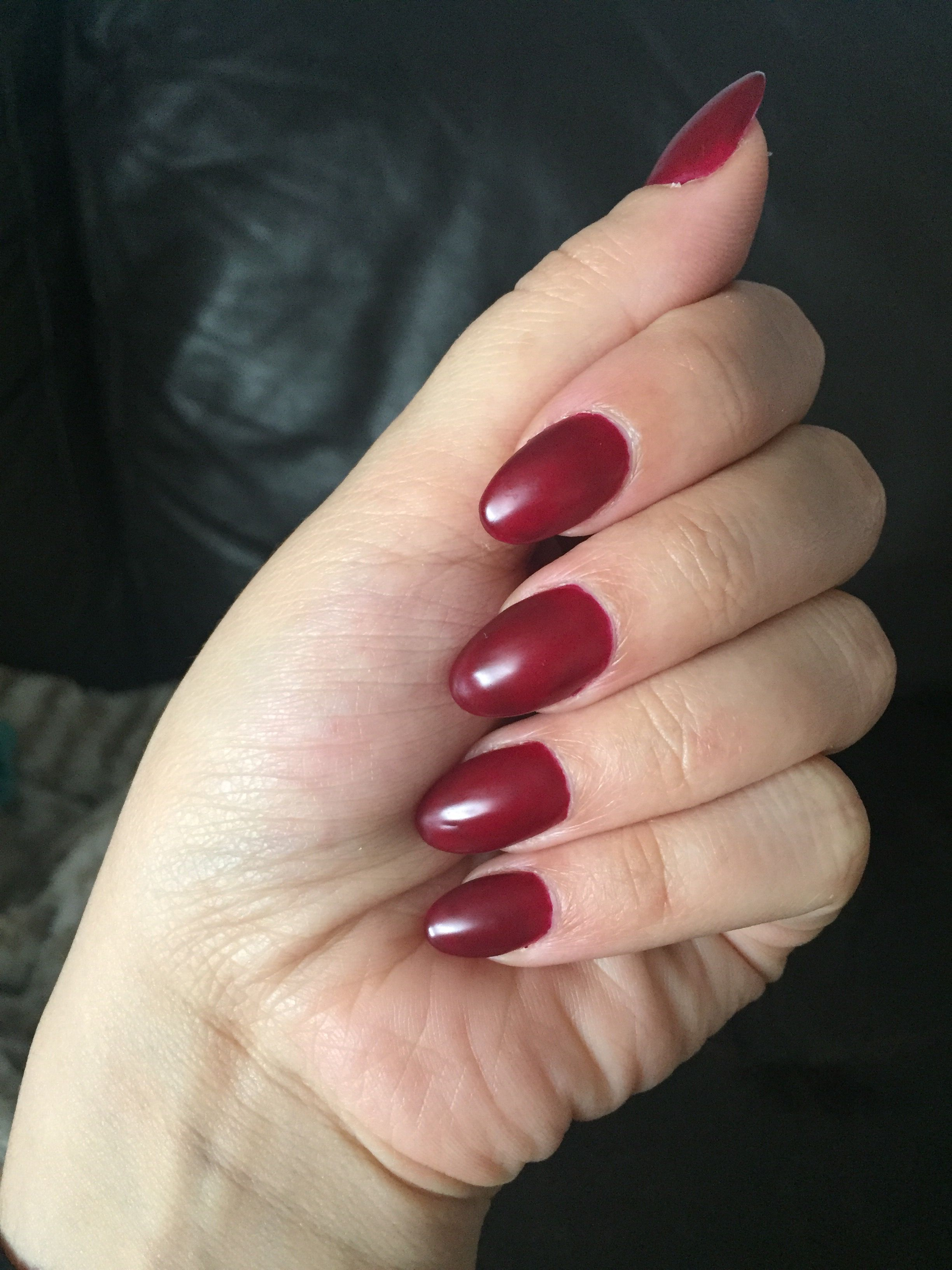 Daisy Duo DND Dark Scarlet Gel Polish | DND Daisy gel color ...