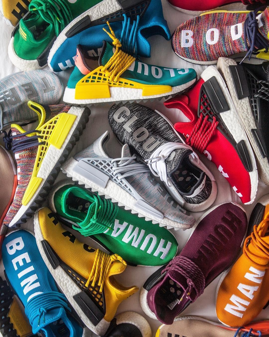 Pharrell Williams x adidas NMD Human Race Collection adidas