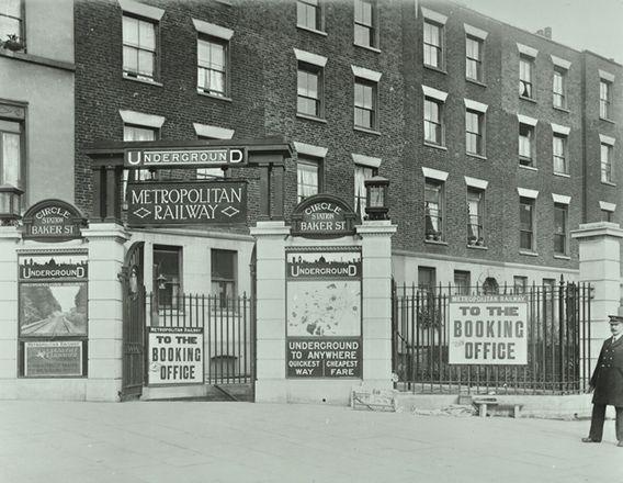 Baker Street Tube 1920