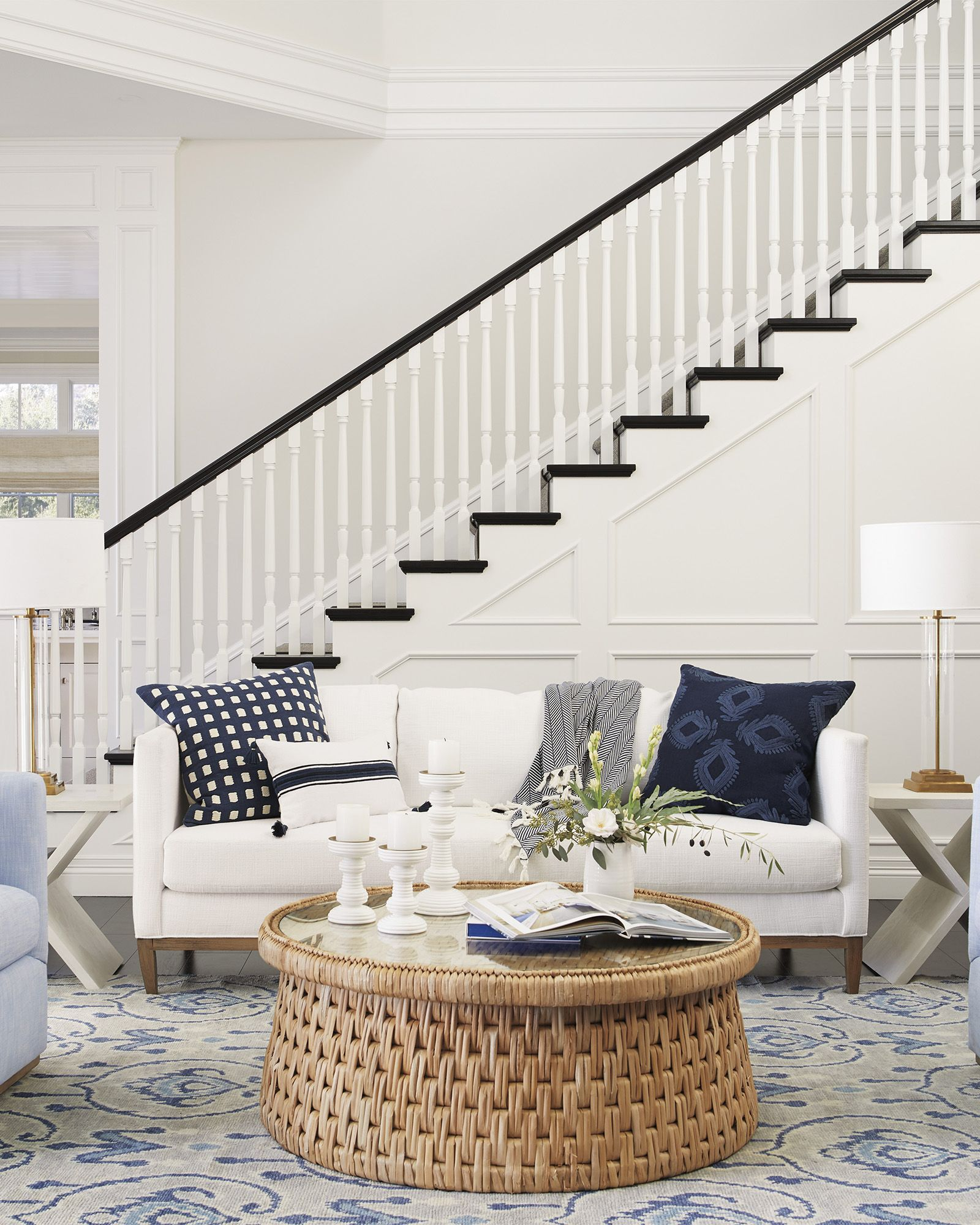 Cape Coffee Table In 2021 Luxe Living Room Cape Cod House Interior Living Room Designs [ 2000 x 1600 Pixel ]