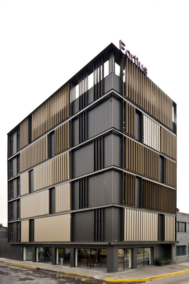 Canadian wood facades office building pesquisa google for Building outside design