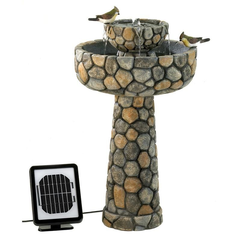 solar bird bath bubbler home depot on The Wishing Well Solar Fountain Etsy Water Fountains Outdoor Solar Water Fountain Solar Fountain
