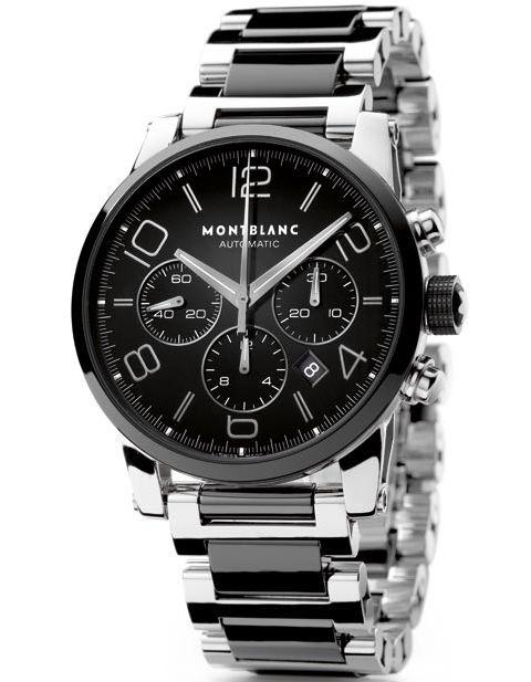 9833015618b Montblanc TimeWalker Chronograph Automatic timepiece