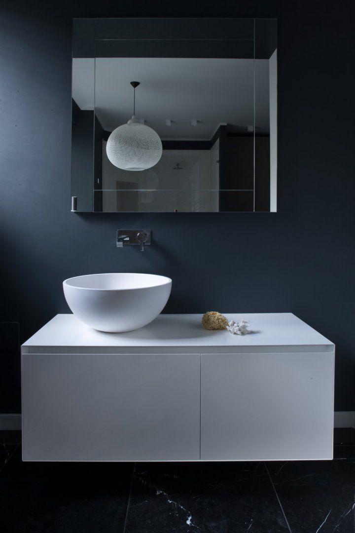 Bathroom By Mood Works Features Antonio Lupi S Vanity Available At Mood Showroom Mood Ant Round Mirror Bathroom Beautiful Bathroom Designs Bathroom Mirror