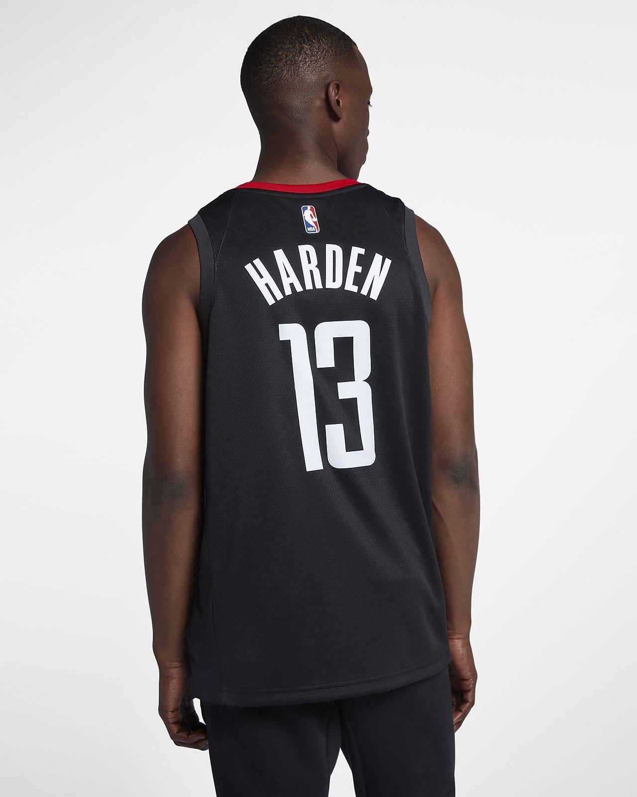 the best attitude fef50 c7680 Nike James Harden Statement Edition Swingman Jersey (Houston ...