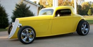 33 Ford Factory Five Coupe : 1933 Ford