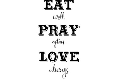 Download Eat Pray Love Farmhouse SVG DXF (55869) | SVGs | Design ...