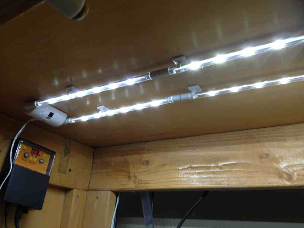 Incredible As Well Gorgeous Under Cabinet Strip Led Lighting Regarding Property
