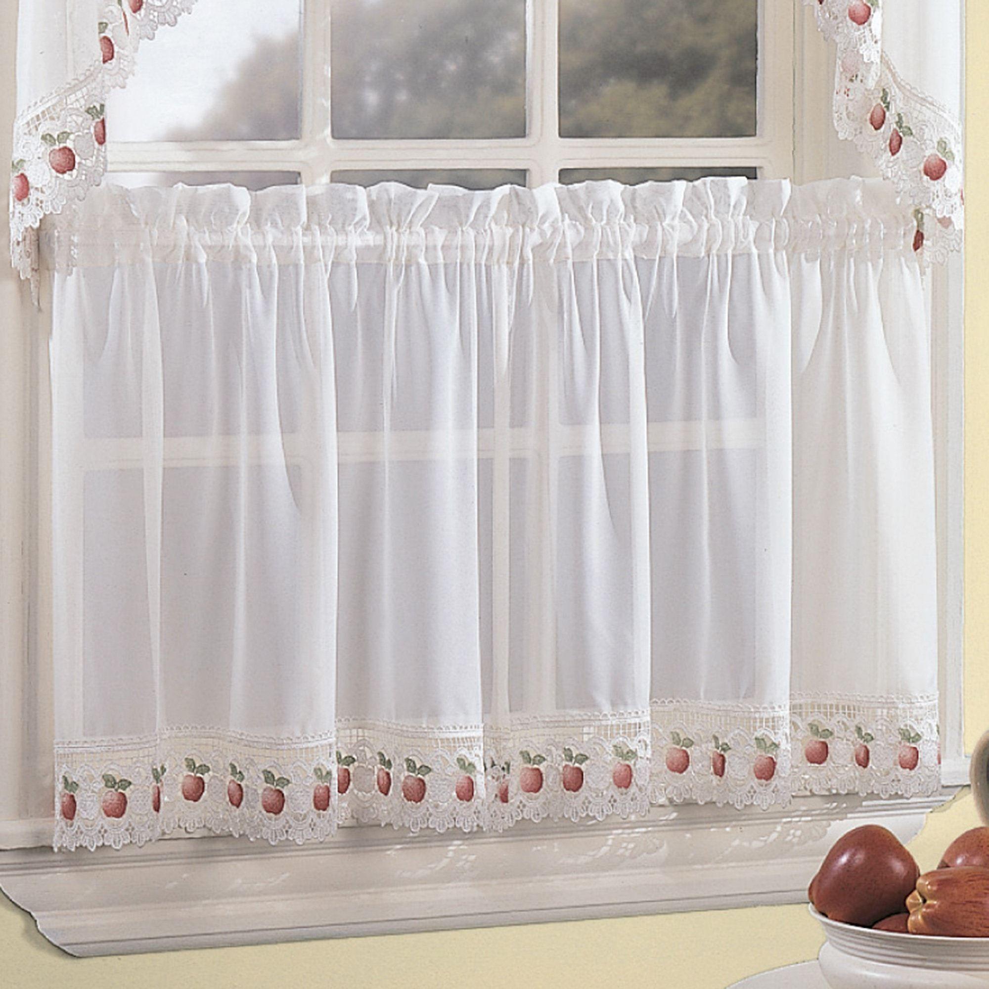 Orchard window curtain tiers realtagfo pinterest
