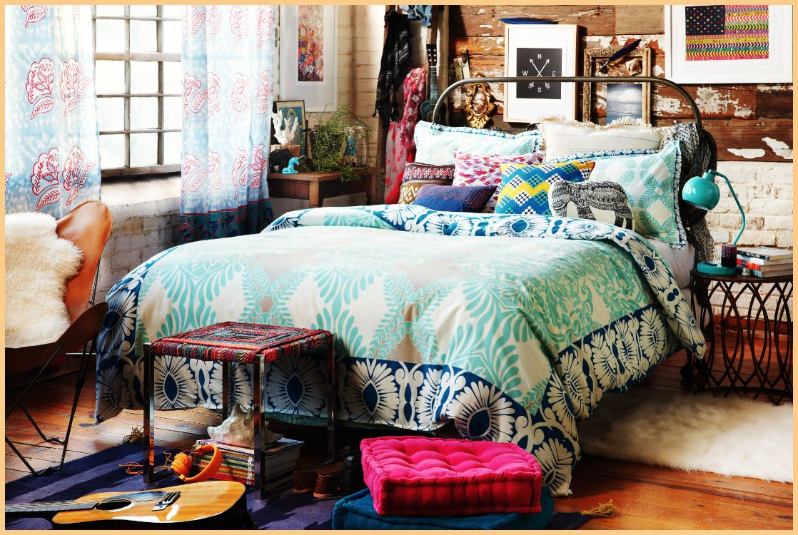 Interior trends 2017: Hippie bedroom decor – HOUSE INTERIOR  #hippie #bedroom #decor #decoration #homedecor #homedesign #interiordesign #interior #design #nice #awesome
