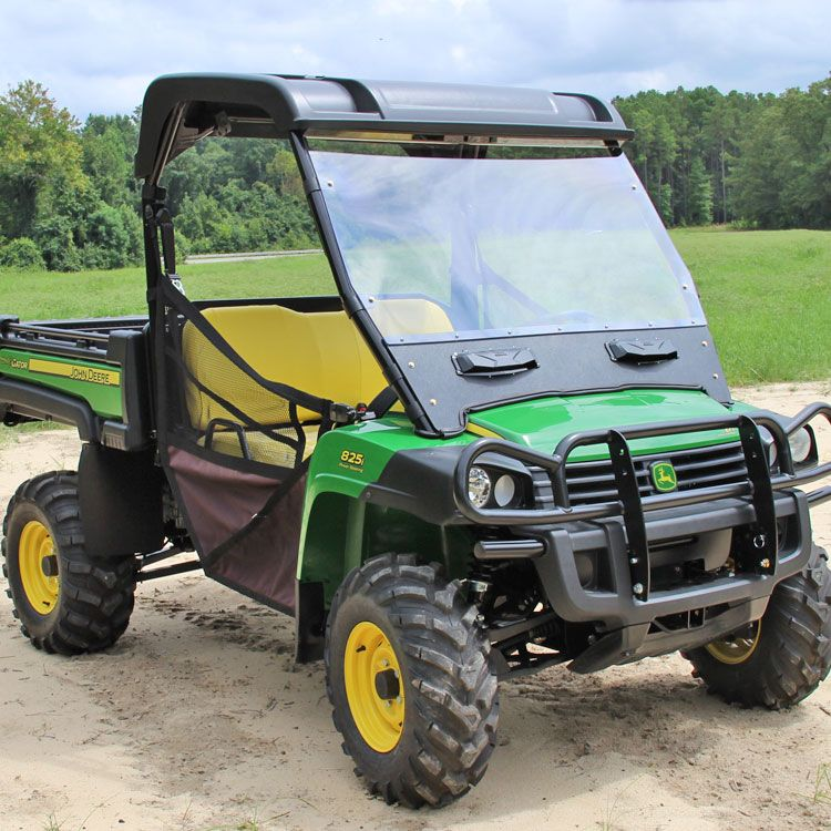 john deere gator vented acrylic windshield for xuv 625i. Black Bedroom Furniture Sets. Home Design Ideas