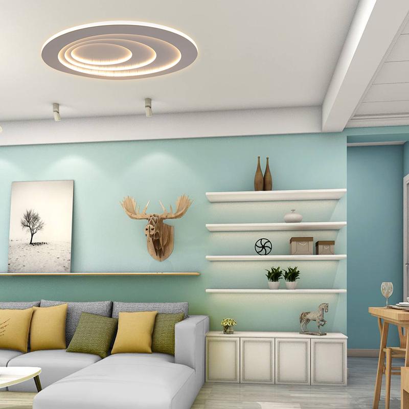 Modern LED Flush Mount Water Drop Terrace Ceiling Light ...