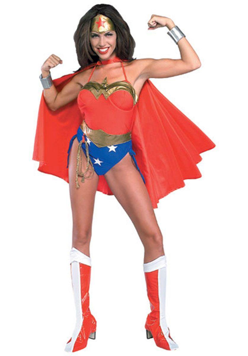 Adults Wonder Woman Sword+Shield Fancy Dress DC Comics Superhero Justice League