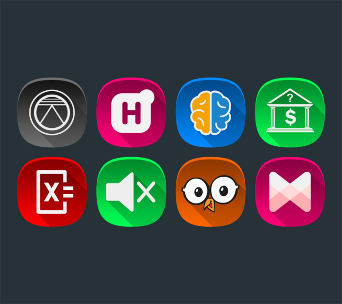 Pin en Download android games Annabelle UI Icon Pack v1