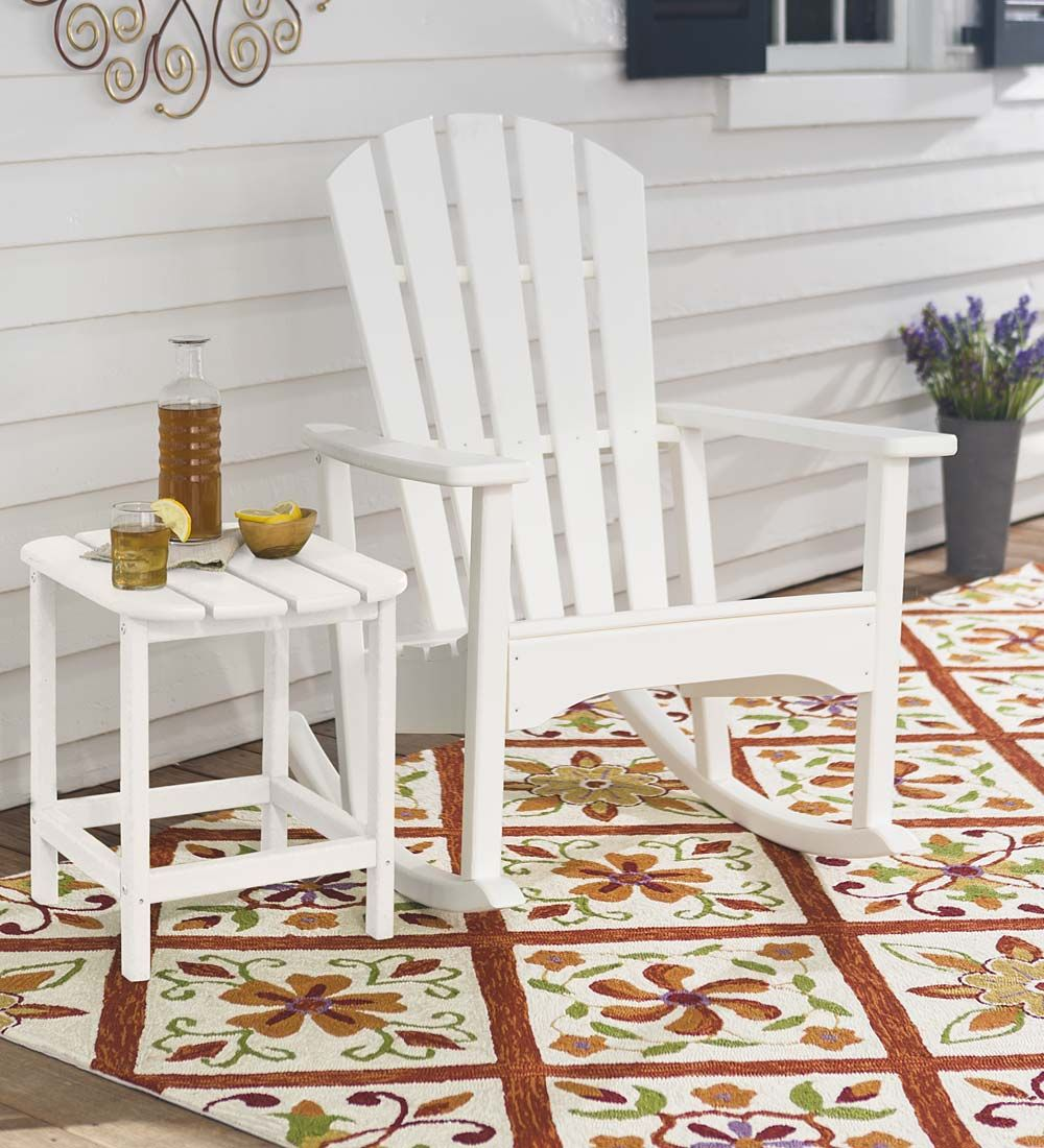POLYWOOD® Outdoor Adirondack Rocker | Outdoor Rockers | Eco Friendly  Outdoor Furniture Made With