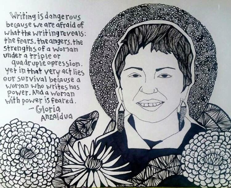 gloria anzaldua Gloria anzaldua how to tame a wild tongue gloria anzaldua was born in 1942 in the rio grande valley of south texas at age eleven she began working in the fields as a migrant worker.