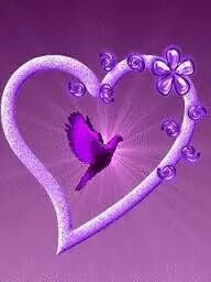 ... PURPLE  HEART  IS FOREVER LOVE..