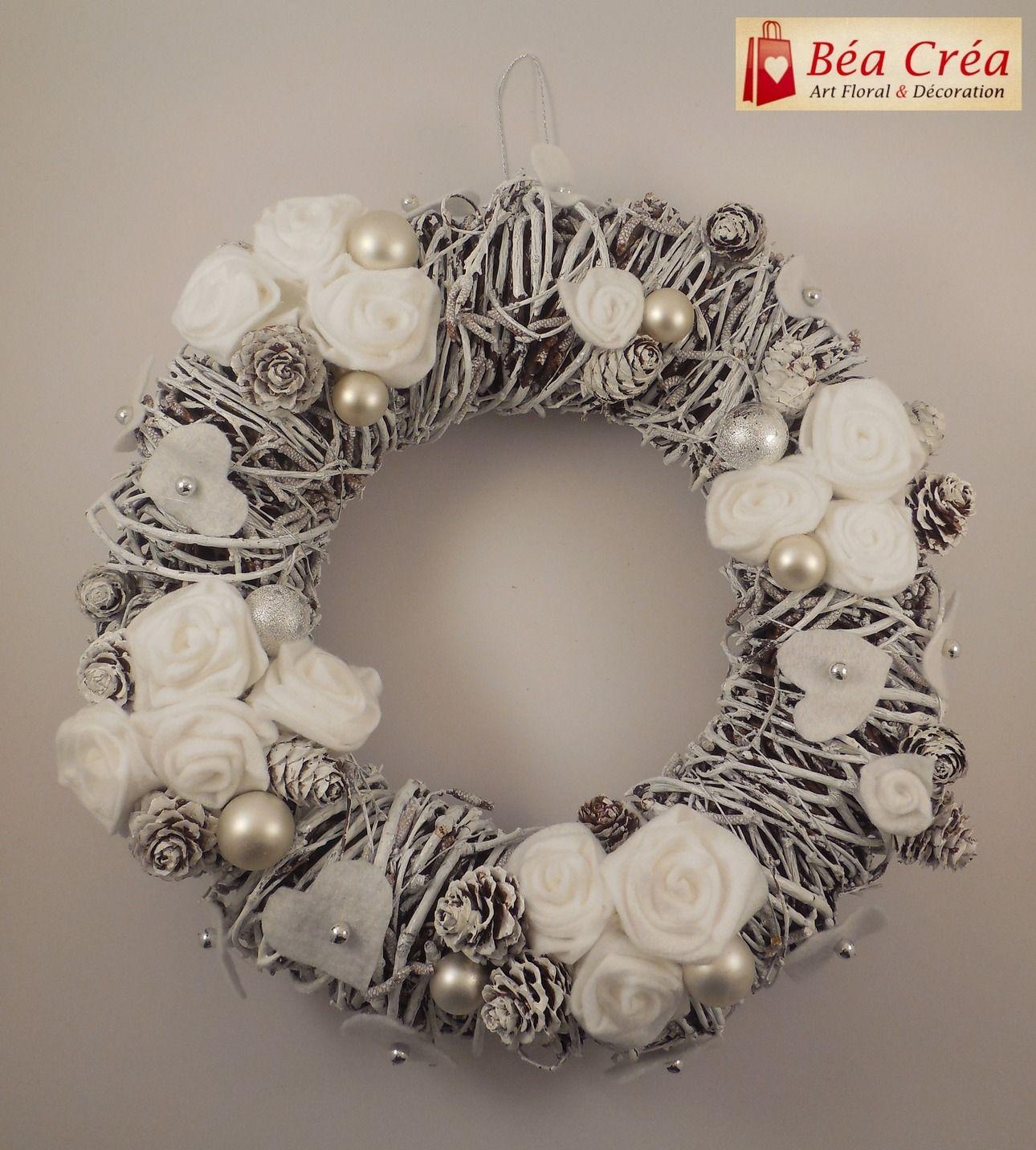 Couronne De Porte Noel Design couronne de bienvenue pour noël (porte) : accessoires de