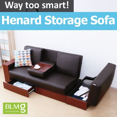 Blmg Sg New Arrivals Henard Storage Sofabed Storage Stool Couch Bed Furniture Living Room Sofa Premium Comofrtable Storag Bed Furniture Living Room Sofa Sofa