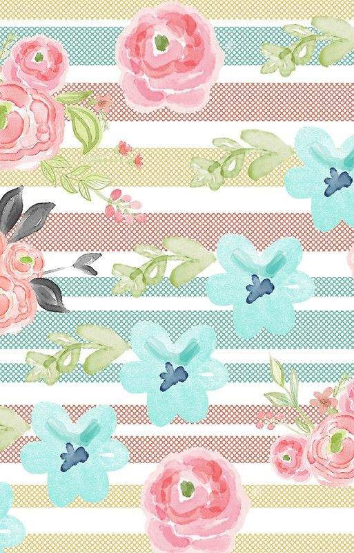 Shabby Chic Water Color Pastels Stripes Vintage Girly Cute Samsung Galaxy S20 Soft By Love999 Iphone Wallpaper Vintage Shabby Chic Wallpaper Phone Wallpapers Vintage