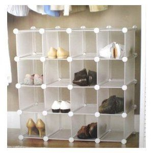 Interlocking Shoe Organiser Uk Incredibly Useful Because It Can Be Configured In Many Ways