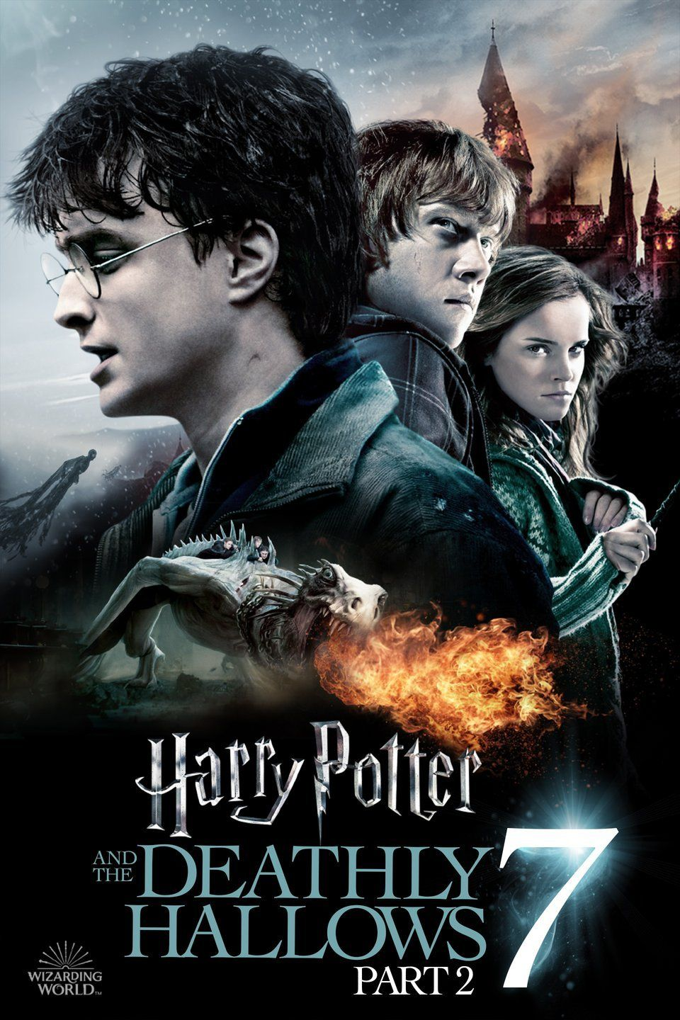 Hp7b Harry Potter And The Deathly Hallows Part 2 2011 Harry Potter Full Deathly Hallows Part 2 Harry Potter Films