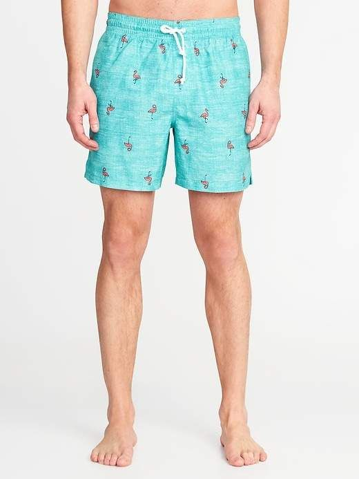805d71ce56 Printed Swim Trunks for Men - 6-inch inseam in 2019 | Products ...