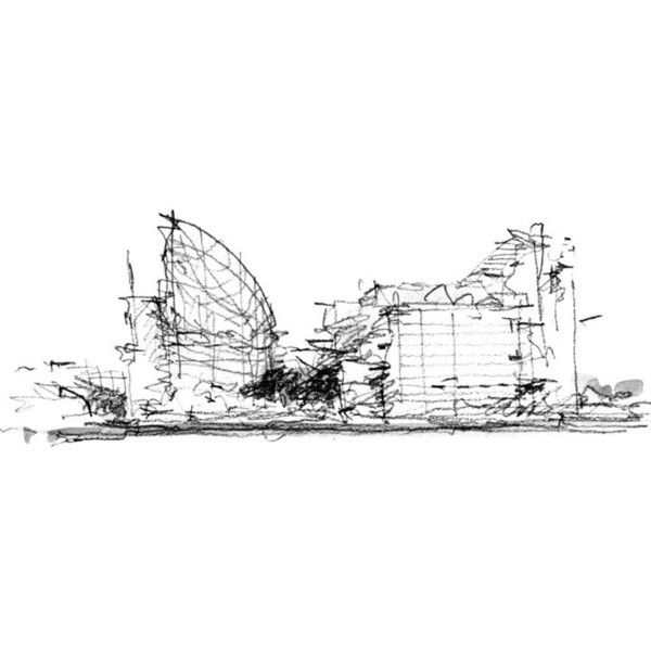 architecture sketch wallpaper. Beautiful Wallpaper Book Architectsu0027 Sketchbooks  Architecture Wallpaper Magazine Found On  Polyvore And Sketch Wallpaper P