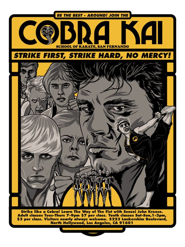 Cobra Kai Needs You!