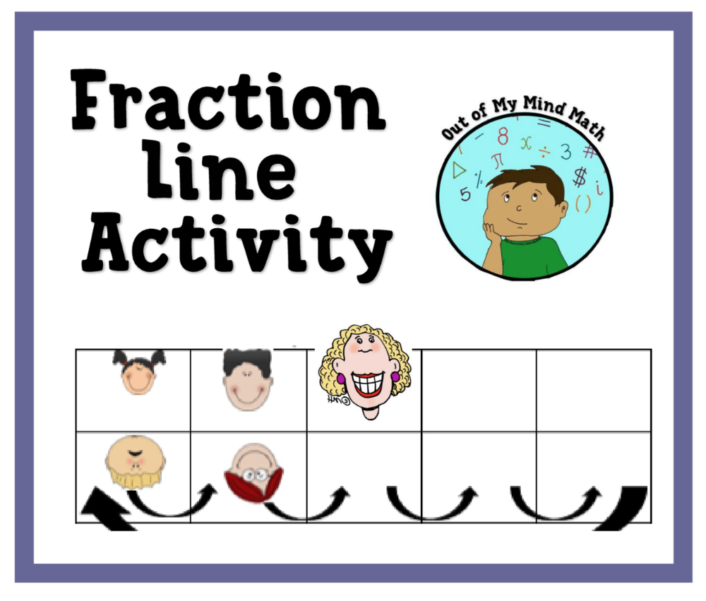 Fraction Line Activity Speed Dating Activity Speed Dating Fractions Activities [ 851 x 1000 Pixel ]