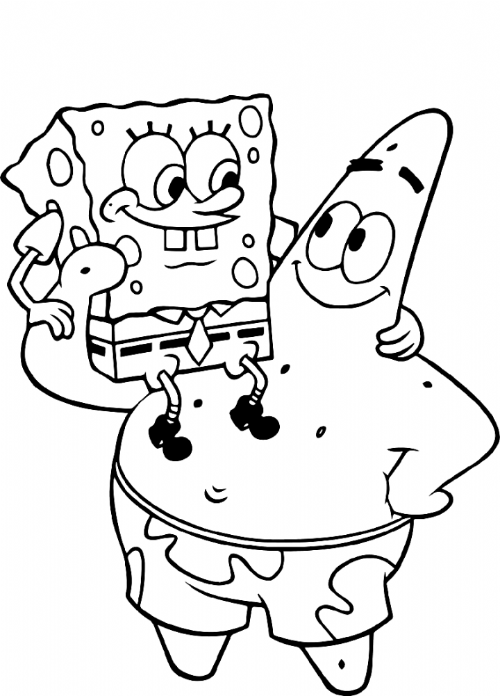 Spongebob Coloring Pages Characters 101 Coloring Coloring Spongebob Coloring Spongebob Drawings Cute Coloring Pages