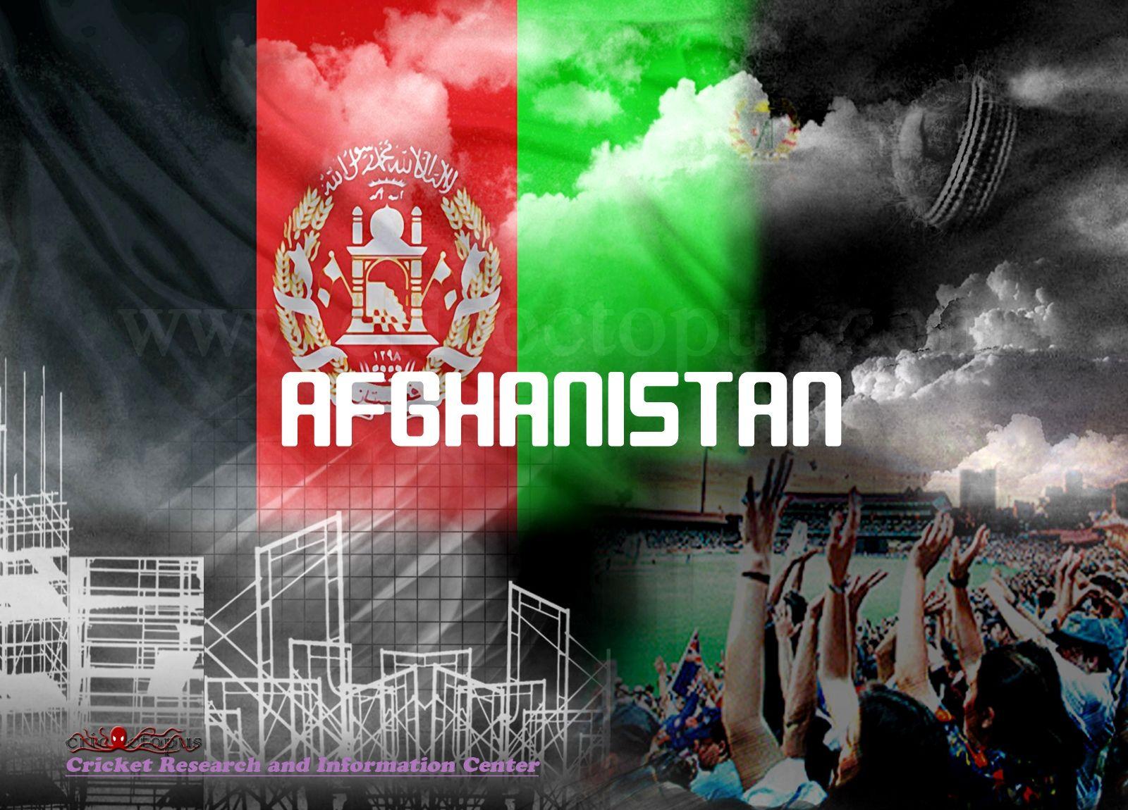 Afghanistan Cricket Team Zoom Background