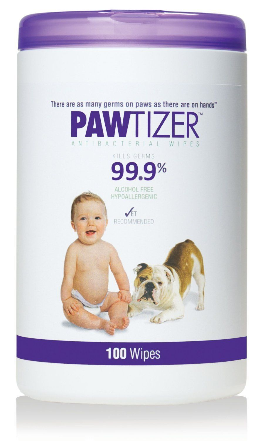 Pawtizer Pet Wipes 100 Count Pack Of 3 Trust Me This Is