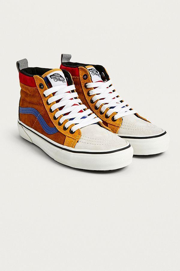 Vans - Baskets Sk8-Hi MTE color block | Vans shoes, Vans, Converse ...