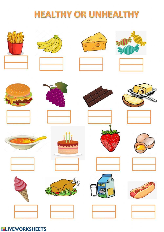 Food Healthy Unhealthy Food Worksheet Healthy And Unhealthy Food Unhealthy Food Healthy Eating For Kids [ 1413 x 1000 Pixel ]