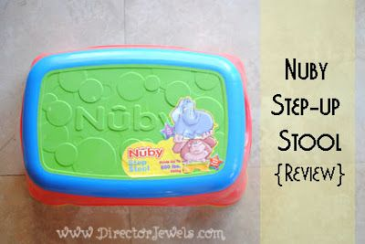 Director Jewels Nuby Toddler Step-Up Stool Review #sponsored A must : toddler step up stool - islam-shia.org
